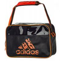 Adidas-Freizeittasche-schwarz-orange