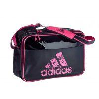 Adidas-Freizeittasche-schwarz-pink