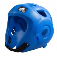 Adidas-Kopfschutz-Adizero-blau,-WTF-u.-WAKO,-Gr.-XS—XL