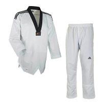 Adidas-Taekwondo-Anzug-FIGHTER-m.-Streifen,-Gr.-160—220-cm