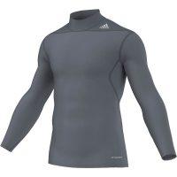 Adidas-Techfit-Base-Long-Sleeve-Moc-W.-Blei-Grau,-Gr.-XS—3XL