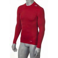 Adidas-Techfit-TF-Base-Long-Sleeve-Power-Red,-Gr.-XS—3XL
