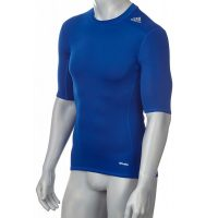 Adidas-Techfit-TF-Base-Short-Sleeve-Collegiate-Royal,-Gr.-XS—3XL