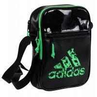 Adidas-Umhängetasche-schwarz-grün