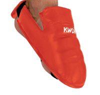 Kwon-Karate-Fußschutz-rot,-Gr.-XS—XL