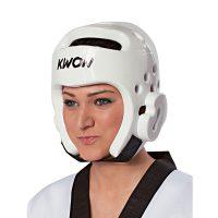 Kwon-Kopfschutz-PU-weiß,-Gr.-XXS—XL