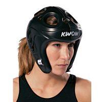 Kwon-Shocklite-Kopfschutz-schwarz,-Gr.-S—XL