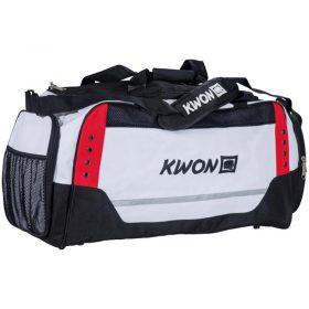 """Kwon-Sporttasche-White-Line """"Neu"""""""