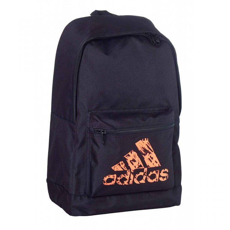 Adidas-Back-Pack-schwarz-orange