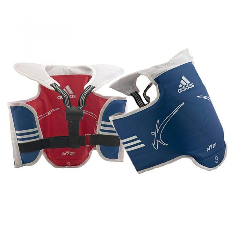 Adidas-Kampfweste-rversible-Kids,-Gr.-XXS---M