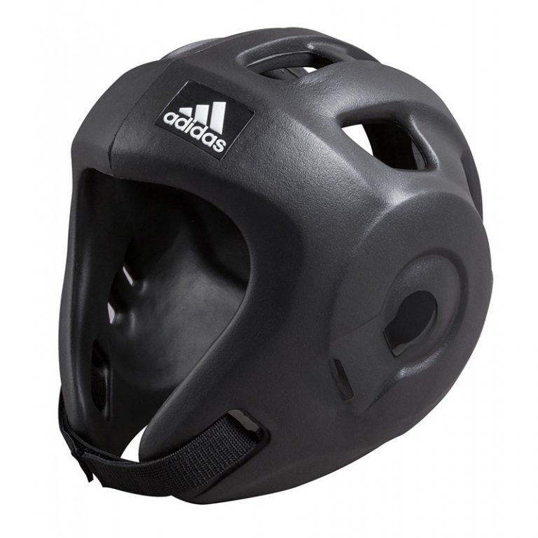 Adidas-Kopfschutz-Adizero-schwarz,-WTF-u.-WAKO,-Gr.-XS---XL