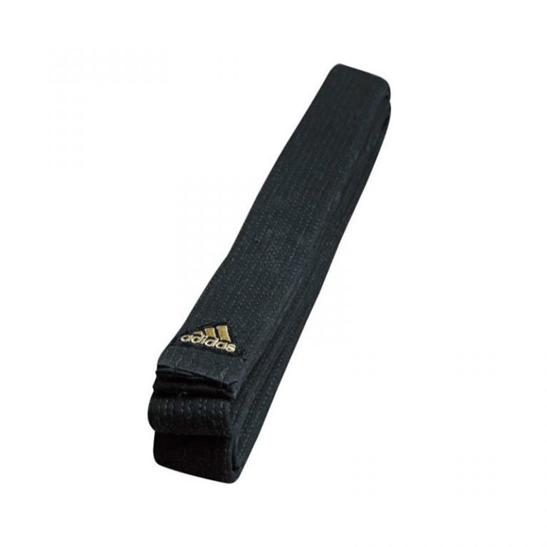 Adidas-Master-De-Luxe-schwarzer-Gürtel