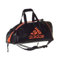 Adidas-Rucksacktasche-schwarz-orange