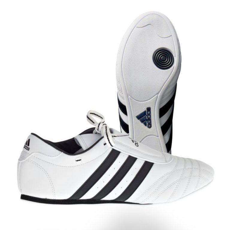 Adidas-Taekwondo-Schuh-SM-II-Sneaker-weiß,-Gr.-33---48