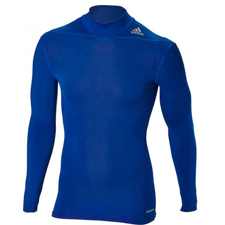 Adidas-Techfit-Base-Long-Sleeve-Moc-W.-Royal-Blue,-Gr.-XS---3XL