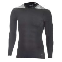 Adidas-Techfit-Base-Long-Sleeve-schwarz,-Gr.-XS—3XL