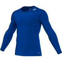 Adidas-Techfit-Long-Sleeve-Base-Royal-Blue,-Gr.-XS—3XL