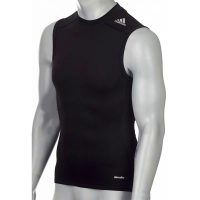 Adidas-Techfit-TF-Base-Sleeveless-schwarz,-Gr.-XS—3XL