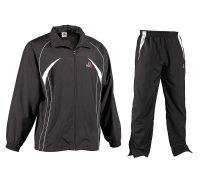Danrho Trainingsanzug Unlimited schwarz-weiß, Gr. 128 – XXL