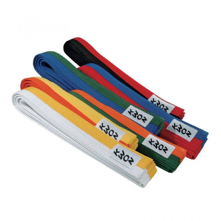 Kwon-Budogürtel-2-farbig,-Längen-200---320-cm