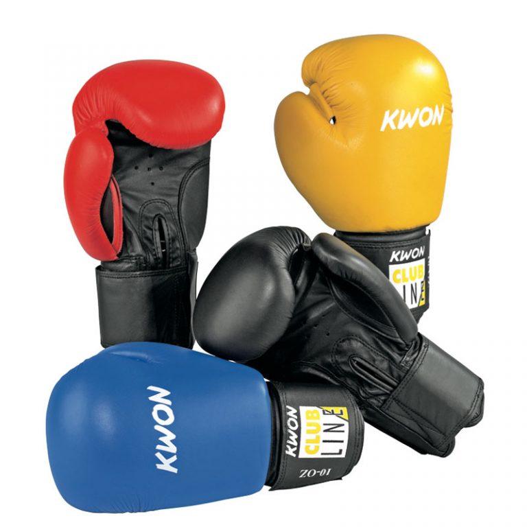 Kwon-Club-Line-Boxhandschuh-Pointer,-10oz
