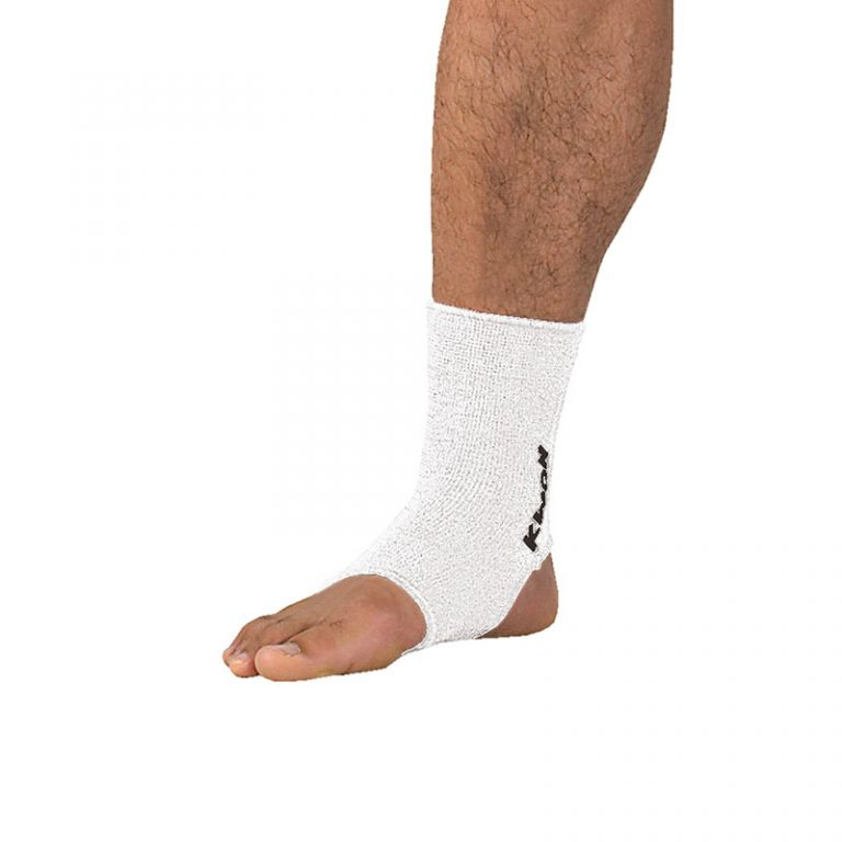 Kwon-Elastische-Fußbandage-weiß,-Gr.-M-u.-L
