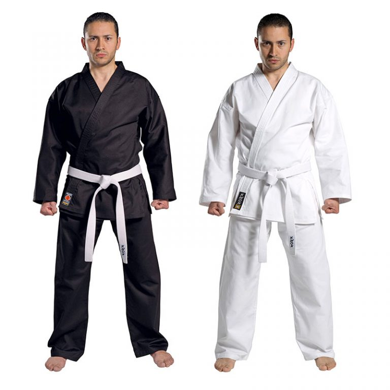 Kwon-Karate-Anzug-Traditional,-Gr.-110---210-cm