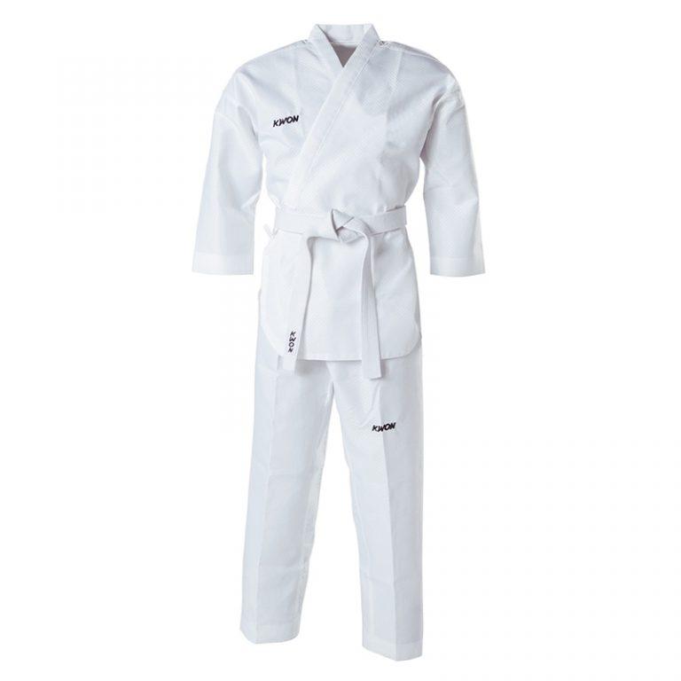 Kwon-Poomsae-Anzug-weiß, Größe 140 - 180 cm.