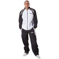 Kwon-Trainingsanzug-Endurance-schwarz-weiß-grau,-Gr