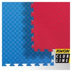 Club Line Steckmatte Reversible rot/blau, Maße: 1mx1mx2cm – Angebotspreis: 17,- EUR  (regulär: 26,95 EUR)