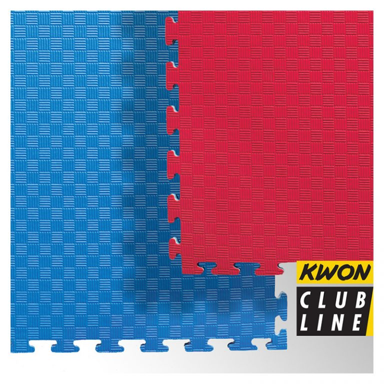 Club Line Steckmatte Reversible rot/blau, Maße: 1mx1mx2cm - Angebotspreis: 17,- EUR (regulär: 26,95 EUR)