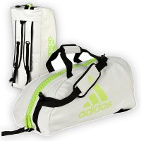 Adidas-2in1-Bag-white-lime,-Gr.-M-u.-L