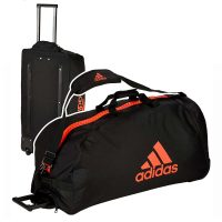Adidas-Trolly-Martial-Arts-black-red-Nylon