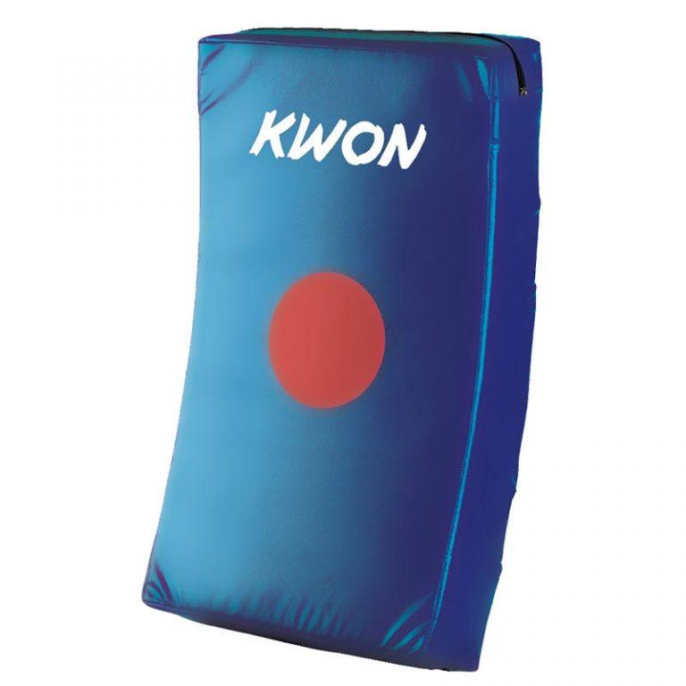 Kwon Schlagkissen gebogen blau, Größe: 66x38x12 cm, Preis regulär: 49,50 EUR, Angebotspreis: 35,- EUR