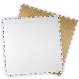 Kwon Club Line Steckmatte Reversible 2 cm, Farbe in weiß u. Kupfer, Maße: 1m x 1m x 2 cm /Angebotspreis: 17,50 EUR (regulär: 26,95 EUR)
