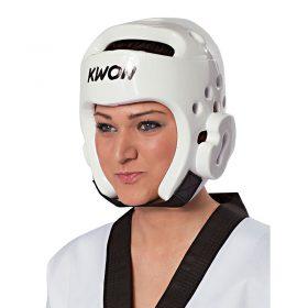 Kwon Kopfschutz weiß WT, Größen: XXS – XL / Angebotspreis: 20,- EUR (regulär: 35,50 EUR)