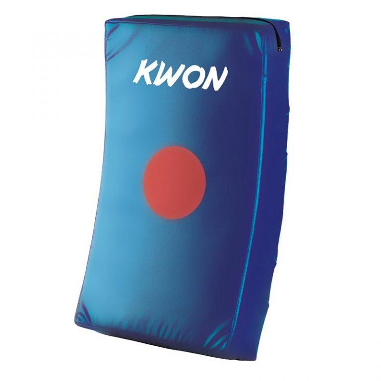 Kwon Schlagkissen blau gebogen, Maße: 66 x 38 x 12 cm, Angebots-Preis: 35,80 EUR (regulär: 49,50 EUR)