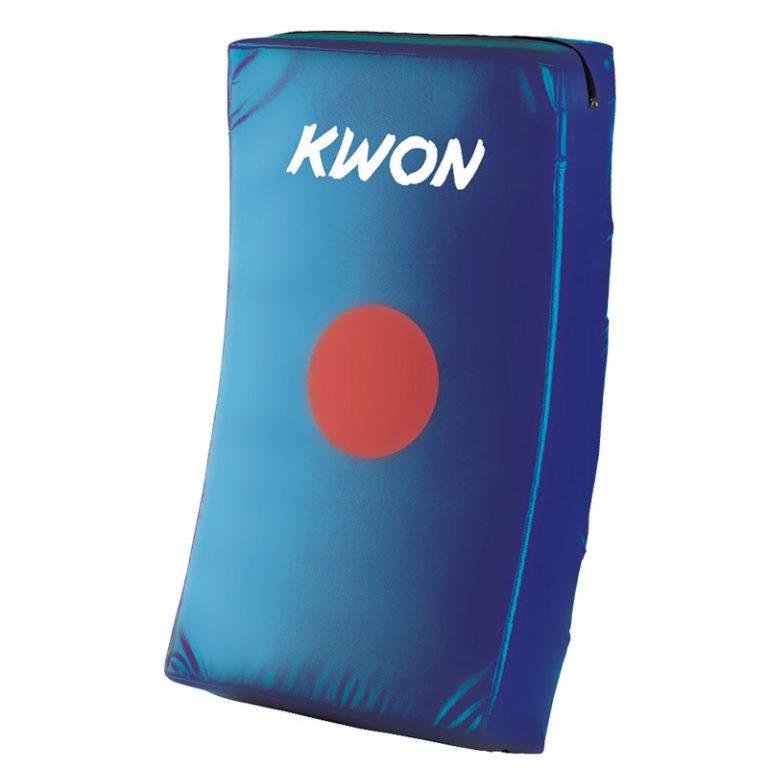 Kwon Schlagkissen gebogen blau, Größe: 66 x 38 x1 2 cm, Preis: 49,50 €