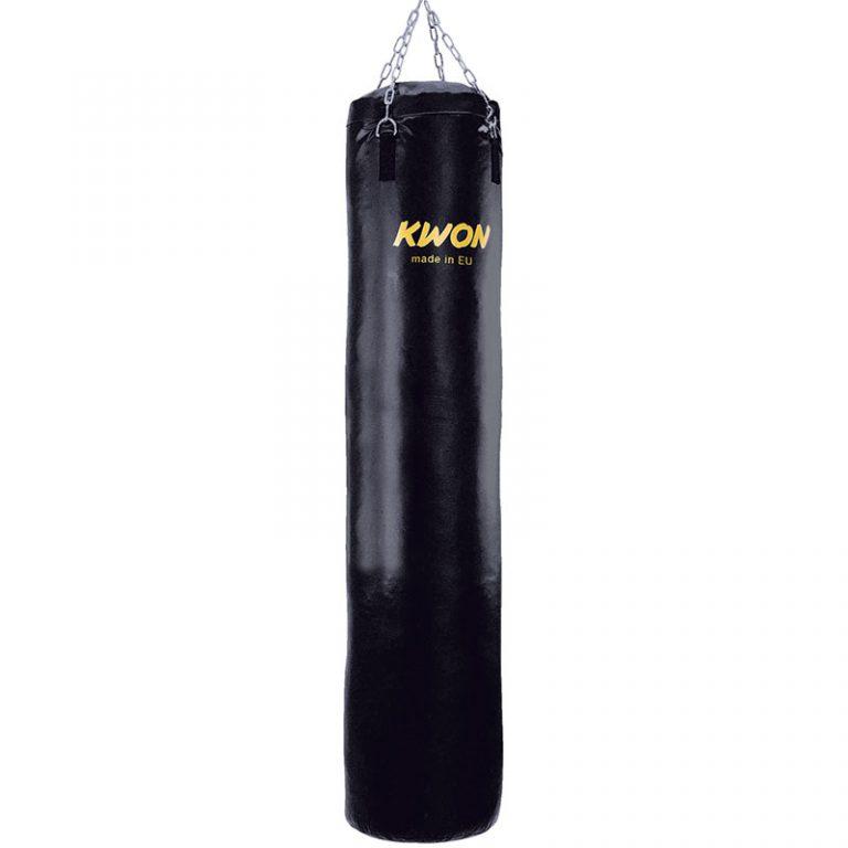 Kwon Trainingssack Standard gefüllt. Größe 100 cm: Preis 119,- € Größe 120 cm: Preis 139,- € Größe 150 cm: Preis 159,- € Größe 180 cm: Preis 188,- € Die Boxsäcke 100 cm und 120 cm kommen als Sperrgut mit 12,- €. Die Boxsäcke 150 cm und 180 cm kommen mit Spedition mit 46,- €.