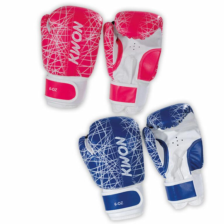 Kwon Kinder Boxhandschuhe Neon 6oz., Farben: pink oder blau Angebotspreis: 14,90 EUR (regulär: 22,50 EUR)